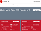Forex Group Limited screenshot